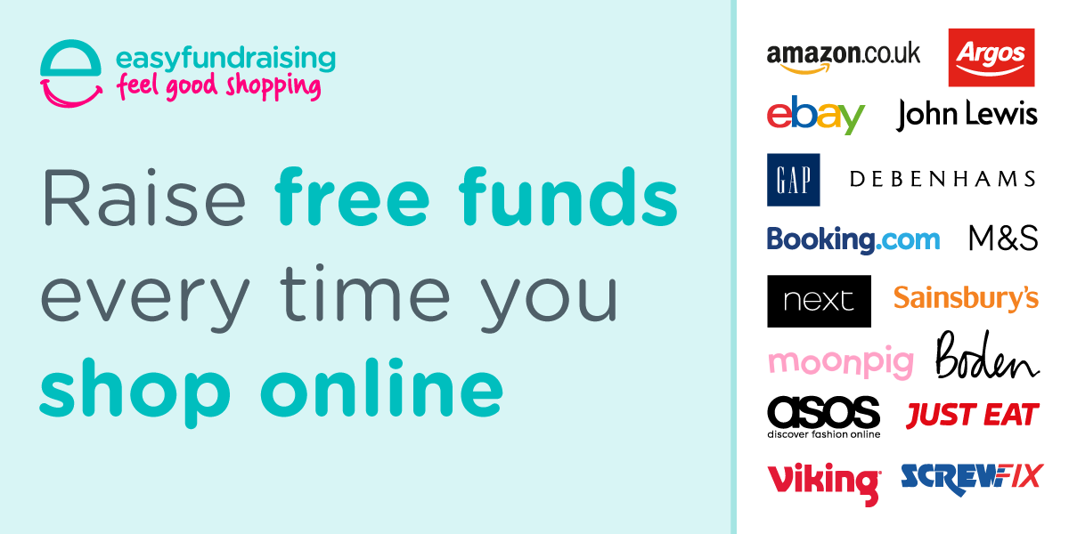 Raise free funds every time you shop online!